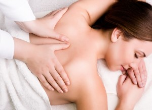 Pretty young women getting therapeutic massage in Redmond Or